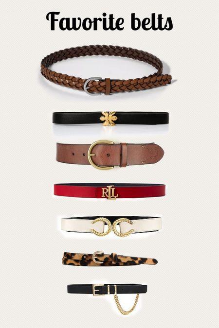 Leather belt, belts for dresses, statement belts   #LTKstyletip #LTKunder100 #LTKworkwear