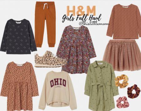 Girls Fall Haul @ H&M! All items TTS and under $30! #fallfashion #kidsfashion  #LTKkids #LTKbacktoschool #LTKSeasonal