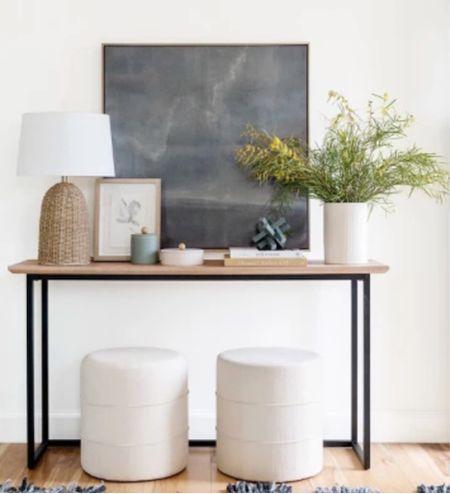 Studio McGee for Target home decor entry way furniture lamp console art   #LTKunder100 #LTKhome #LTKstyletip