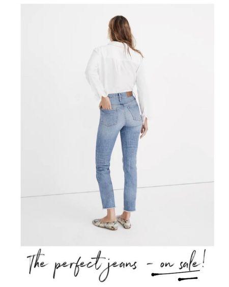 Madewell Jeans on SALE, Madewell Denim on SALE,     http://liketk.it/3o4ez @liketoknow.it #liketkit  #LTKsalealert #LTKSale #LTKunder100