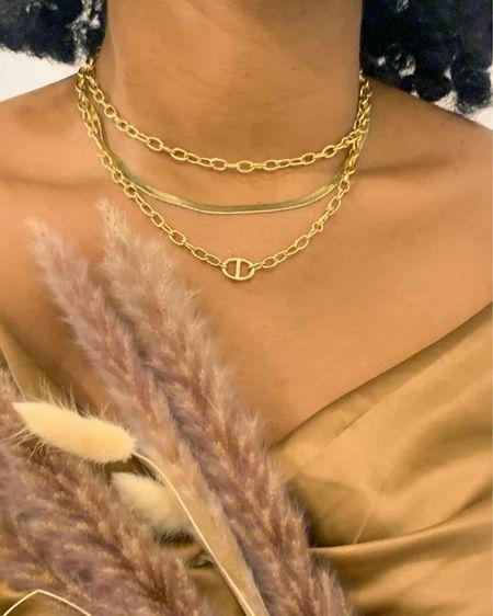 Golden layers 💫  #LTKunder100 #LTKworkwear #LTKstyletip