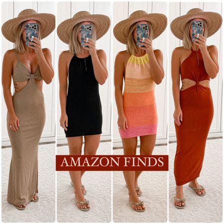Amazon finds. Summer vacation dresses. Wearing size small   http://liketk.it/3ieZc @liketoknow.it #LTKunder50 #LTKunder100 #LTKsalealert #liketkit #laurabeverlin