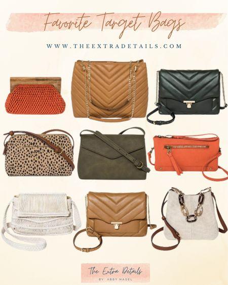 Favorite Target Bags    http://liketk.it/3eTvn #liketkit @liketoknow.it #LTKunder50 #LTKstyletip