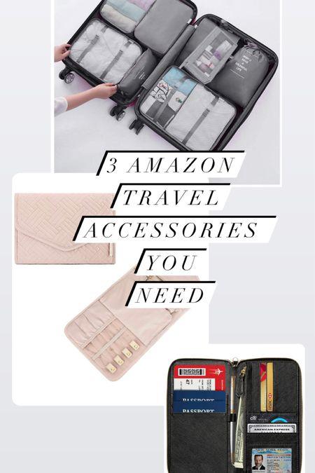 3 AMAZON Travel accessories you NEED!  #jeweleryorganizer #luggageorganizer #packingcubes #passportholder http://liketk.it/2ZJZS #liketkit @liketoknow.it