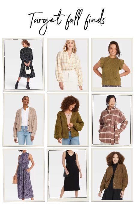 Fall Target finds, loving these cozy cardigans SO much!   #LTKunder50 #LTKunder100 #LTKstyletip