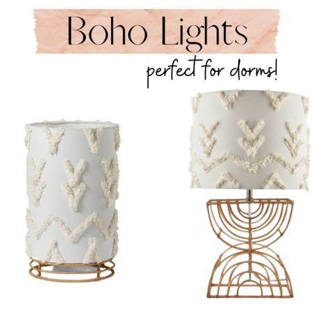 Boho lighting!  Home decor | dorm decoration | table lamp | small lamp | boho decor | interior light   Shop your screenshot of this pic with the LIKEtoKNOW.it shopping app http://liketk.it/3bl86 #liketkit @liketoknow.it #LTKunder50 #LTKstyletip #LTKhome