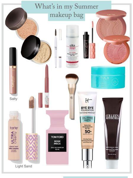 What's in my summer makeup bag   #LTKsalealert #LTKbeauty #LTKSeasonal