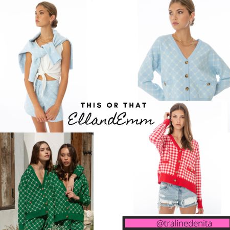 Ell and Emm Summer Outfits!! #ellandemm #summeroutfits #cardigan http://liketk.it/3jHot #liketkit #LTKunder100 #LTKstyletip #LTKsalealert @liketoknow.it Follow me on the LIKEtoKNOW.it shopping app to get the product details for this look and others