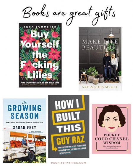 Books are the BEST gifts! #LTKunder50 #StayHomeWithLTK #LTKgiftspo http://liketk.it/33gjS #liketkit @liketoknow.it Screenshot this pic to get shoppable product details with the Follow me on the LIKEtoKNOW.it shopping app to get the product details for this post and others