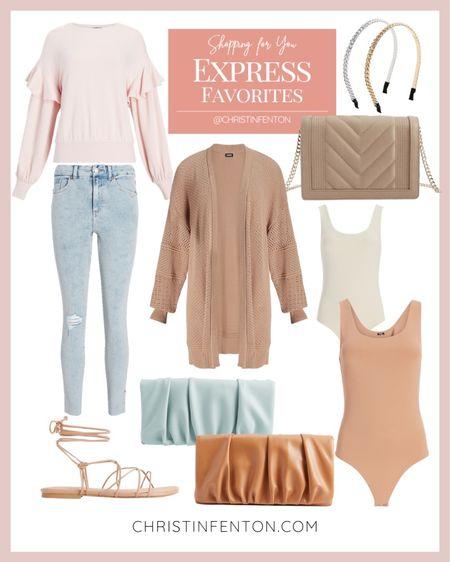 Express cute fashion finds! Click the products below to shop! Follow along @christinfenton for new looks & sales! @shop.ltk #liketkit #express 🥰 So excited you are here with me! DM me on IG with questions! 🤍 Xo Christin  #LTKstyletip #LTKshoecrush #LTKcurves #LTKitbag #LTKsalealert #LTKwedding #LTKfit #LTKunder50 #LTKunder100 #LTKbeauty #LTKworkwear #LTKSale