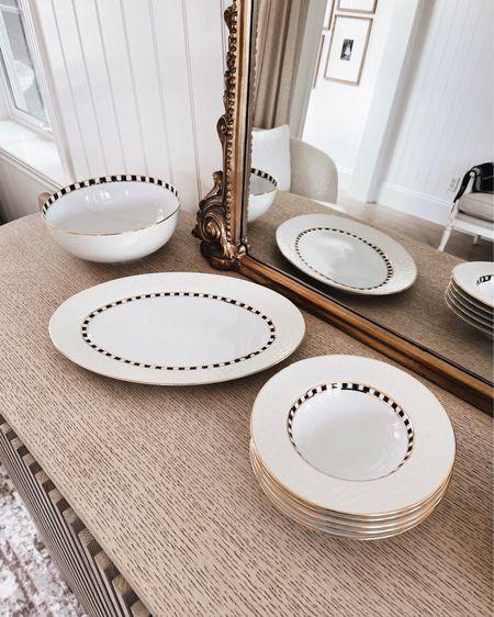 Mackenzie Childs, serving plates, dinner plates, serving bowl, hand finished, porcelain, tabletop finishes, summer hosting, entertaining ideas, stylinaylinhome @liketoknow.it #liketkit    http://liketk.it/3ifAR           #LTKstyletip #LTKhome #LTKfamily