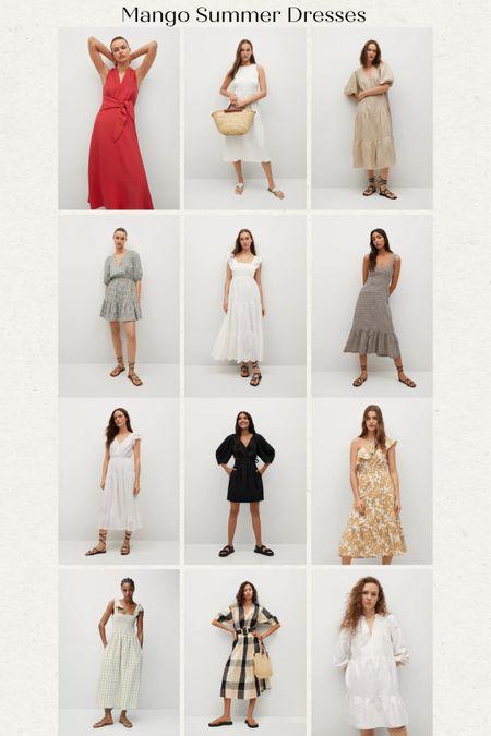 Mango dresses on sale! My favorite summer dresses @liketoknow.it http://liketk.it/3h52c #liketkit #LTKsalealert