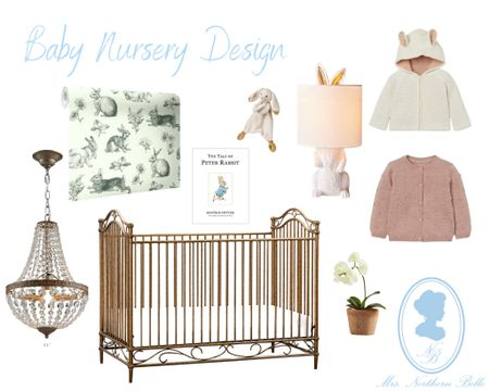 Now featuring baby nurseries in my designs! How adorable is this little girls bunny theme?! 🐇🎀 I had too much fun making it! Can't wait to share more!! //P.S- I am not pregnant nor planning to be anytime soon. These designs are for clients & I'm just sharing my work as I go! 😊   #LTKbump #LTKbaby #LTKhome