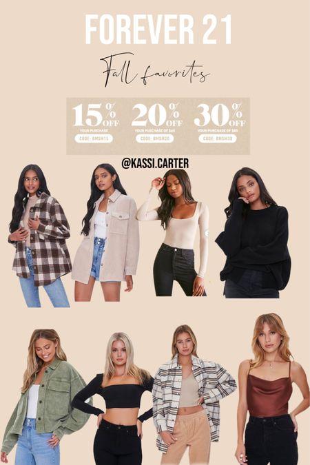 Forever 21 sale favorites! Staple fall picks   #LTKsalealert #LTKSeasonal #LTKstyletip