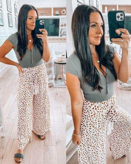 Amazon finds  Amazon fashion Cheetah pants Comfort