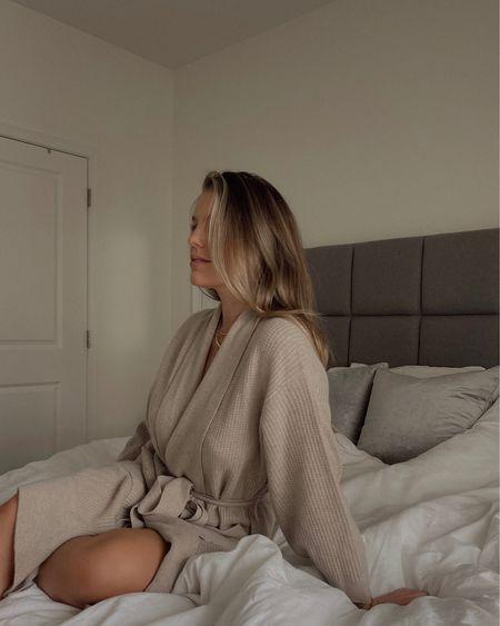Favorite lounge robe ever 🤍 http://liketk.it/38T0J #liketkit @liketoknow.it