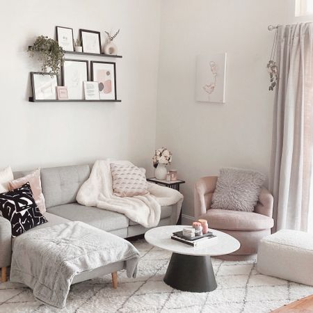 I just added in this gorgeous chair from west elm 💞 and the quality is impeccable! Spring really inspired me to brighten up my living room! Also do you think it's possible to have too many throw pillows? LOL http://liketk.it/3fPE6    #LTKhome #liketkit @liketoknow.it