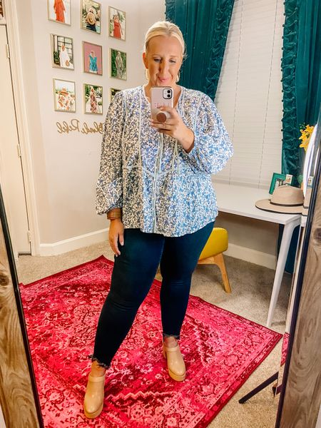 Old Navy try-on about to go up on Stories! You won't want to miss and a lot of it is on sale 🤑 Wearing the XXL in the top and 20 in the jeans!   #LTKsalealert #LTKunder50 #LTKcurves