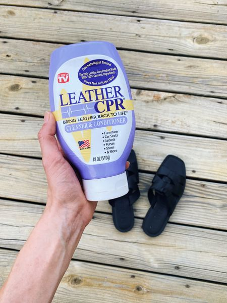 This leather cleaner & conditioner is pure magic! I've been using it on my handbags and shoes for years!   #LTKunder50 #LTKstyletip #LTKunder100