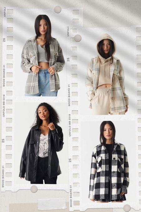 40% off on shackets. Fall outfit | sweater | boots | faux leather | Christmas | fall dress | booties #ltkfamily #ltkunder50 #ltkunder100 #ltkholiday #ltkstyletip #ltkworkwear  #LTKSeasonal #LTKGiftGuide #LTKsalealert
