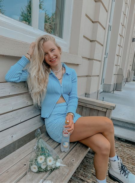 Blue outfit style💙 #blue #outfit #blueoutfit #asos  #LTKeurope #LTKstyletip #LTKSeasonal