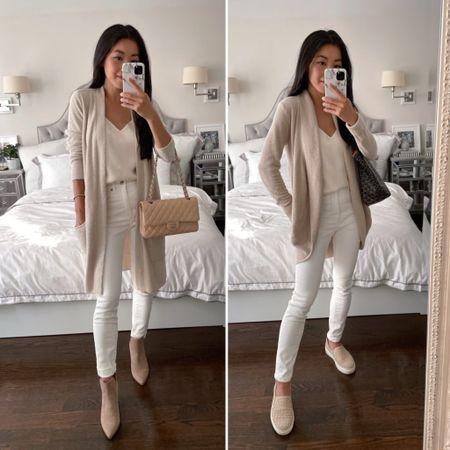 Barefoot Dream Cardigan comparison // Long Cardigan Xs  vs Circle Cardigan Xs/s  •Steve Madden booties 5.5 (last years version) •Everlane jeans 24 ankle •M.Gemi woven sneakers sz 35 (code JEAN60 for $60 off a first order)  #petite #NSale  #LTKSeasonal #LTKstyletip #LTKsalealert http://liketk.it/3jRZM #liketkit @liketoknow.it