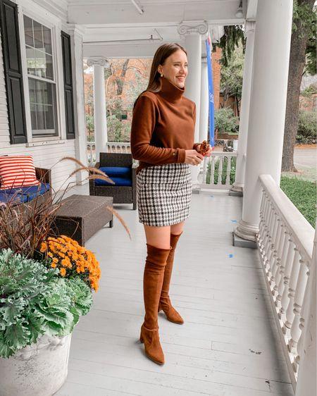 http://liketk.it/2YD33 #liketkit @liketoknow.it amazon find skirt Dudley sweater otk boots