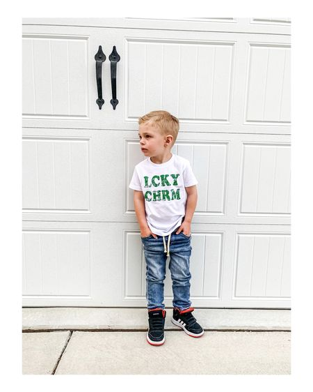 Happy St Patricks Day 🍀  #liketkit #LTKfamily #LTKhome #LTKkids @liketoknow.it @liketoknow.it.family @liketoknow.it.home #boymom #toddlerstyle Shop my daily looks by following me on the LIKEtoKNOW.it shopping app! http://liketk.it/3aGod