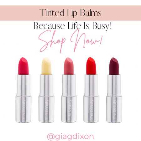 Tinted lip balms you can't go wrong with because life gets busy.  #LTKtravel #LTKbeauty #LTKstyletip