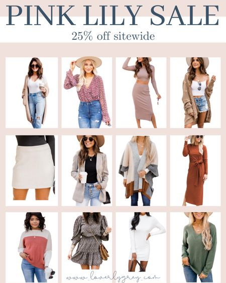 Pink Lily is having 25% off for the LTK sale! So many good fall staples for date night, family photos, teacher workwear looks and more.   #LTKworkwear #LTKunder100 #LTKstyletip