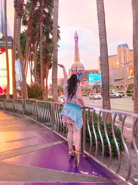 Dream Big, Travel Far! 💫 When I wrote my dream travel bucket list over two years ago, I didn't think I would be crossing so many off. ✔️ I'm so grateful for that and to share it! 🙏🏻 Here are a couple more shots from my Vegas trip so swipe through for all the fun pictures I took. 📷   #LTKcurves