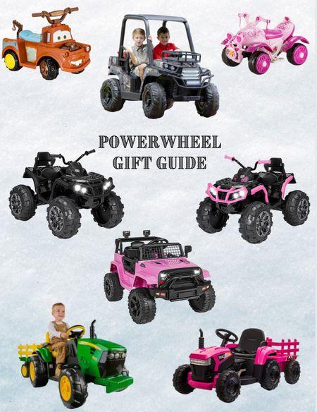 Power Wheel Gift Guide!  #LTKGiftGuide #LTKkids #LTKHoliday