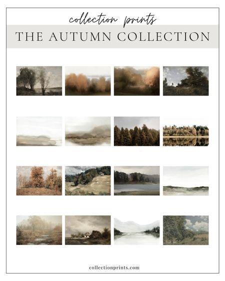 Autumn Art: Digital Downloads, Paper Prints, framed prints and canvas. 25% off 9/1-9/7. Fall Art, Fall Home Decor. Online Printable Art   #LTKsalealert #LTKhome #LTKSeasonal