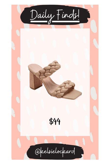 Braided sandals look for less! Amazon finds, designer look for less, summer sandals, wedding guest sandals, nude sandals   #LTKshoecrush #LTKstyletip #LTKunder50