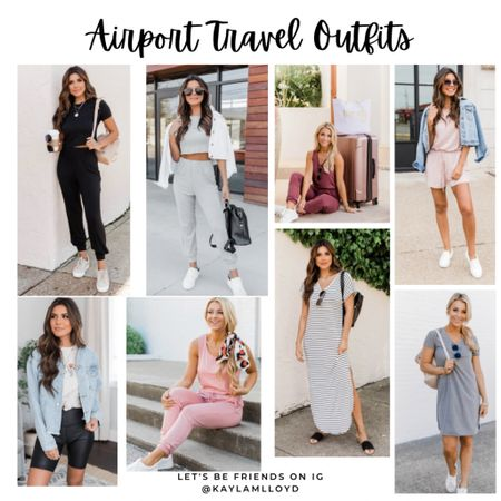With summer in full swing, you cannot have enough comfy travel outfits ❤️ ✈️ http://liketk.it/3fa1V @liketoknow.it #liketkit #LTKunder100 #LTKstyletip #LTKsalealert