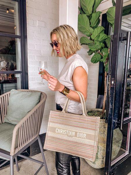 Dior book tote, tote bag, personalized tote   #LTKitbag #LTKstyletip