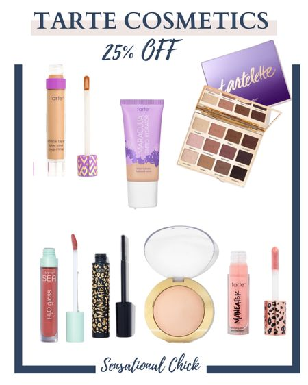 My favorite Tarte cosmetic products on sale!   #LTKsalealert #LTKbeauty