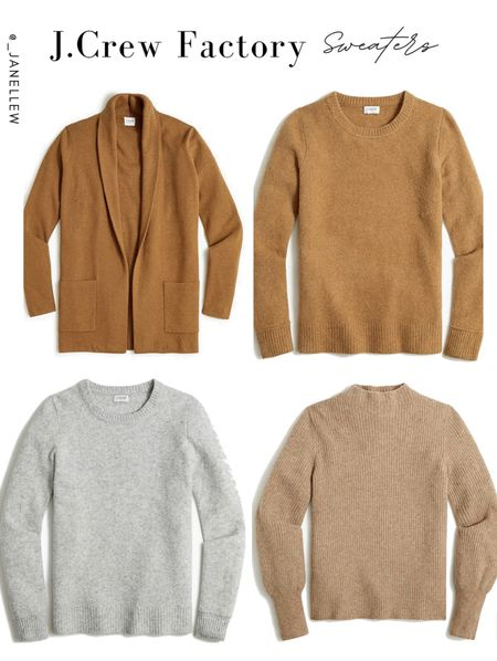 Get FREE SHIPPING and an extra 15% off when you buy 2 + sweaters! Use code: BUNDLEUP #jcrew #sweaters #fall #outfit #neutrals #cardigan #ltkholiday  #LTKSeasonal #LTKsalealert #LTKGiftGuide