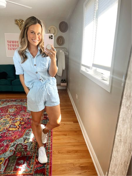 The cutest lounge set and is under $20! And these white sneakers are the most comfy!  #LTKfit #LTKshoecrush #LTKunder50