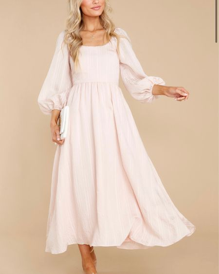 Beautiful midi dress! Great for brides! http://liketk.it/3jpFB #liketkit @liketoknow.it #LTKunder50 #LTKwedding #LTKstyletip