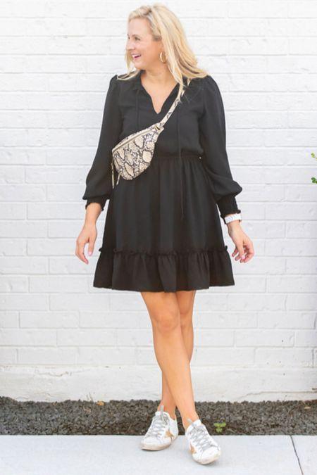 Loving this dress with sneakers   #LTKSeasonal #LTKstyletip #LTKunder100
