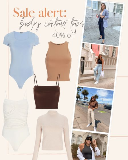 I'm actually obsessed with the Express body contour collection. They came out with a bunch of other designs and they're all 40% off today. I'm stocking up on some of the crop tops!   #LTKunder50 #LTKsalealert #LTKstyletip