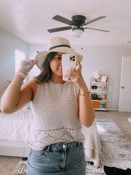 Shein summer beach hat http://liketk.it/3hYJ7 #liketkit @liketoknow.it #LTKunder100 #LTKunder50 #LTKswim @liketoknow.it.brasil @liketoknow.it.europe @liketoknow.it.home @liketoknow.it.family