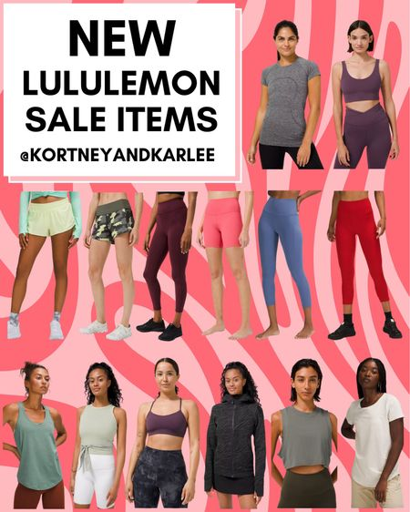 New Lululemon Sale Items!!  Lululemon sale | sale lulu | lulu sale | hotty hot shorts | lululemon on sale | new lululemon on sale | New Lululemon arrivals | Lululemon leggings | lululemon sports bra | lululemon tank | lululemon shorts | lululemon sweatshirt | lululemon top | lululemon shirt | Kortney and Karlee | #kortneyandkarlee #LTKunder50 #LTKunder100 #LTKsalealert #LTKstyletip #LTKSeasonal #LTKtravel #LTKfit @liketoknow.it #liketkit http://liketk.it/3hSwo