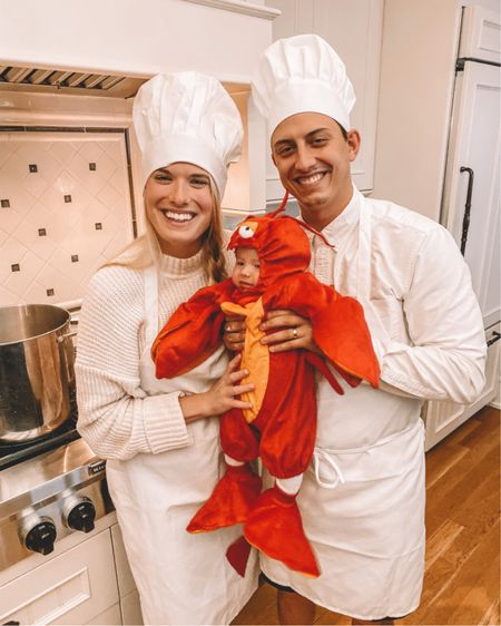 Leo's Halloween costume last year 🎃😂 baby lobster and baby shark! These are going to be hard to top 🦞 http://liketk.it/2ZG60 @liketoknow.it #liketkit #LTKunder100 #LTKunder50 #LTKbaby  #halloweencostume #babyhalloween