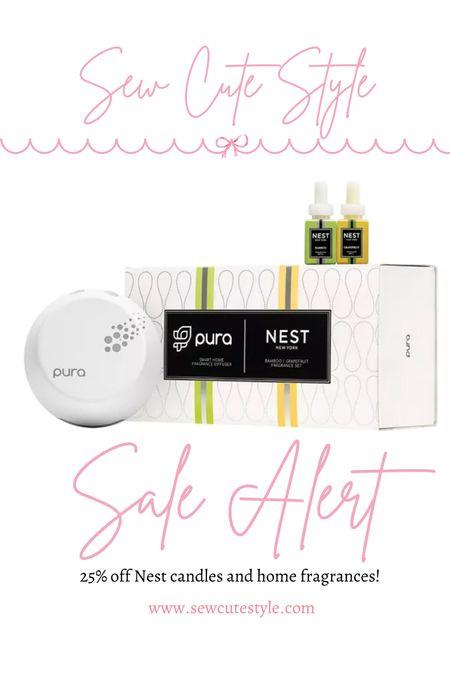 Nest home fragrances are on sale! Including this Pura smart plug.   #LTKsalealert #LTKhome