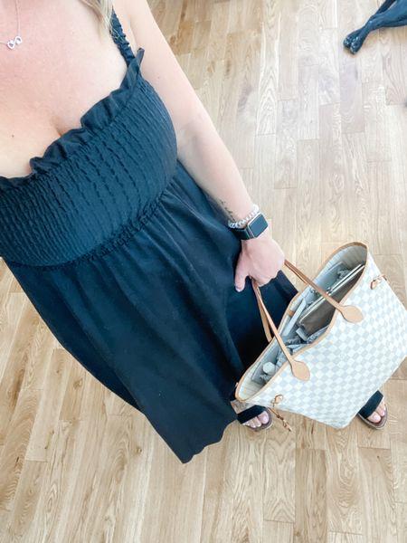 One non maternity purchase that has carried over to postpartum wonderfully 🙌🏼 I linked some similar dresses.   #dress #weddingguestdress #postpartum #black #blackdress   #LTKunder50 #LTKstyletip #LTKwedding