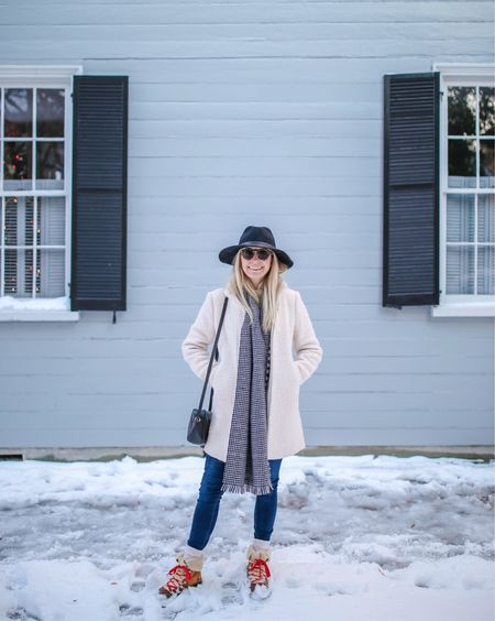 """Love that we can """"venture out in the snow"""" in Charleston! Cheers to a fun & chilly weekend ahead ☃️❄️ #rrcharleston http://liketk.it/2u85V @liketoknow.it #liketkit"""