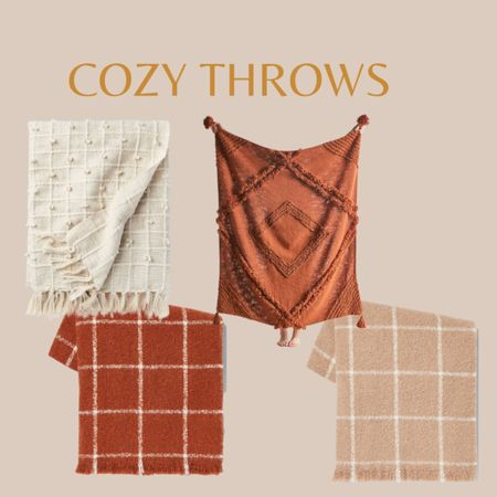 Fall throws, cozy throws and blankets   #LTKstyletip #LTKhome #LTKHoliday