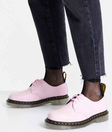 If In doubt.. buy the blush pink shoes!!! These dr martens are the coolest!!! From asos! Enjoy!   #LTKshoecrush #LTKeurope #LTKunder100